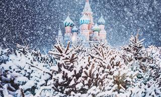 Magical Pictures of Moscow in Winter