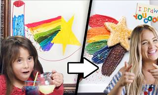 Competing Chefs Turn a Child's Drawing into a Dessert!