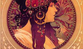 The Beautiful Paintings of Alphonse Mucha
