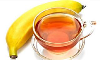 Drink Banana Tea to Enjoy a Good Night's Sleep