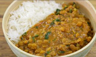 Delicious Recipes: Make a Healthy Bowl of Lentil Curry