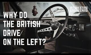 Ever Wonder Why the UK Has Left-Hand Driving?