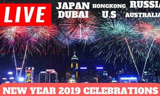 Firework Heaven: How Each Country Welcomed 2019!