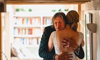 15 Touching Wedding Photos of Brides & Their Proud Fathers