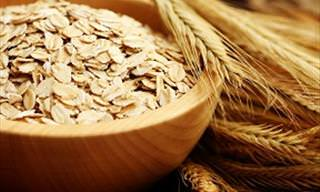 Oatmeal Flakes Have SO Many Uses Around the House!