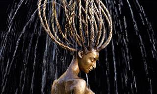 With Water, these Bronze Statues Come to Life