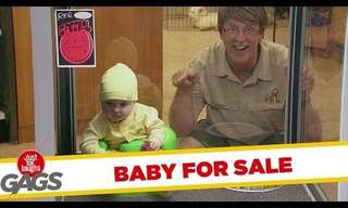 Baby For Sale - Hilarious Prank