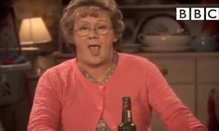 Funny: Mrs. Brown Just Can't Seem to Focus Today...