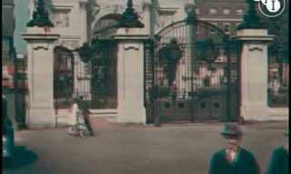 Rare Video: 1927 London in Color!