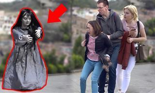 Spooktober: The Haunted Girl Prank!