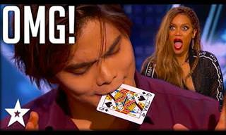 Shin Lim Amazes Audience with Card Trick