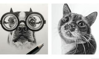 How Can These Pet Portraits Look So Extraordinarily REAL?