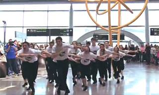 A Surprise Irish Dancing Flash Mob!