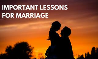 6 Important Lessons For a Long, Happy Marriage