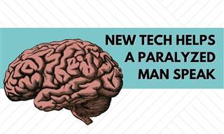 Paralyzed Patient Communicates Through Mind-Reading Tech