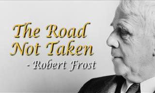 "Robert Frost's Famous ""The Road Not Taken"" On Video"