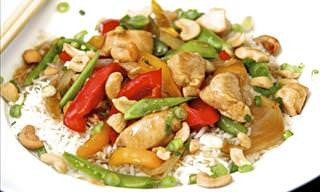 A Chicken & Cashew Stir-Fry That's Tasty and Easy to Make