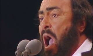 Is This Pavarotti's Most Iconic Performance Ever?