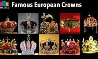 These Are the MOST Beautiful & Famous European Crowns!