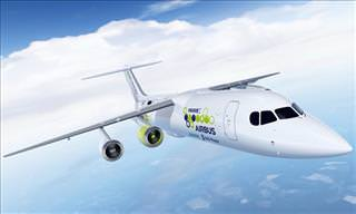 Electric Airplane in the Works: The Airbus E-Fan X