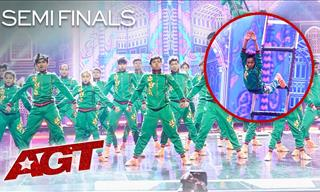 Indian Dance Crew's Enthralling Act Leaves Audience Stunned