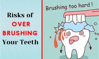 Want Healthy Teeth? Then Please Avoid Aggressive Brushing