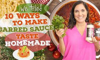 How to Make Store Bought Pasta Sauce Taste Homemade