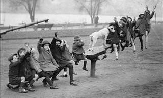 Old Photos of Children Playing