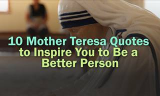 10 Inspiring Mother Teresa Quotes