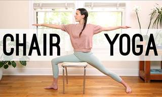 Chair Yoga: a Complete At Home Video Practice