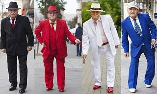 This 86-Year-Old Man Wears Flashy New Clothes Every Day