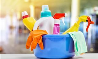 Cleaning Supplies Need Cleaning Too, This Is How To Do It