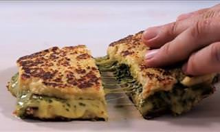 Gluten-Free Cauliflower Grilled Cheese