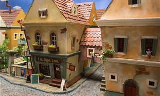This Miniature Town Was Created Just For Hamsters