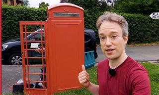 A Clever New Way Red Phone Boxes Are Reused in the UK