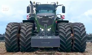 Biggest and Most Powerful Tractors in the World
