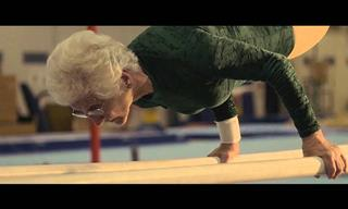 This Nonagenarian Gymnast Will Leave You Speechless!