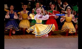 This Russian Maiden Dance is Truly Wonderful