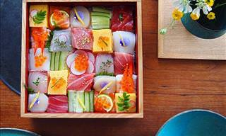 Mosaic Sushi - A New Culinary Artform