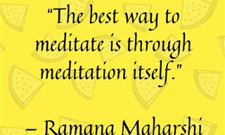 10 Quotes From Famous People About Meditation