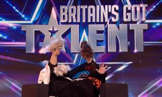 Puppet Act on Britain's Got Talent