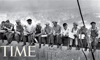 """The Story Behind America's Famous Photo """"Lunch Atop A Skyscraper"""""""