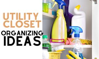 Time To Organize Your Utility Closet - 11 Tips