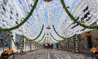 The Flower Festival of Campo Maior, Portugal