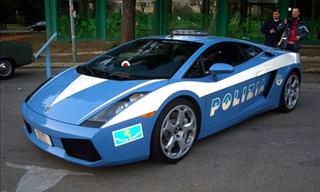 Fastest and Most Expensive Police Cars