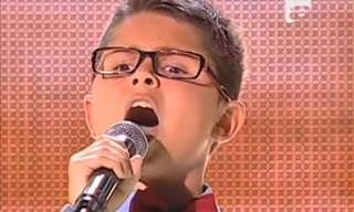 A Blind 10-Year-Old With an Incredible Voice