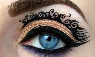Beauty is in the Eye... Make-up - Stunning Art!