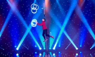 This Acrobat Takes Balancing Acts To New Heights!