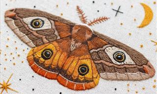 Emillie Ferris: 15 Gorgeous Stitchings