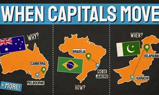Fun Geography - These Countries Moved Their Capitals